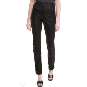 NEW Good American The Croc Exec Faux Leather Pants